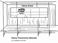 Nancy, Powered by Gatorade