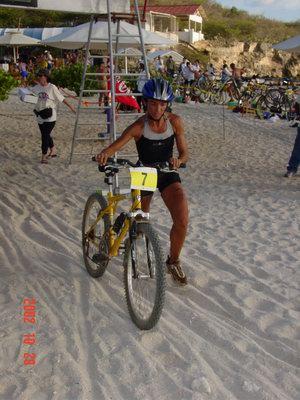 Paloma is klaar met fietsen
