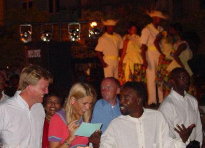 Willem Alexander en Maxima in Otrabanda