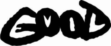 Welke twee (Engelse) woorden staan hier geschreven?