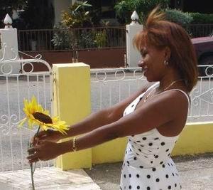 Girasoles para Lucía op haar verjaardag zondag 7 januari 2007. Klik voor groter.