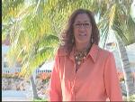 Lupe Reyes, nationale televisieberoemdheid op Curacao