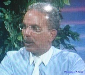 Nelson Pierre, lijsttrekker van de LNPA