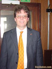 Maurice Adriaens, de nummer twee op de kieslijst van Frente Obrero (FOL)