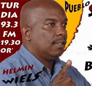 Helmin Wiels, lijsttrekker van Pueblo Soberano