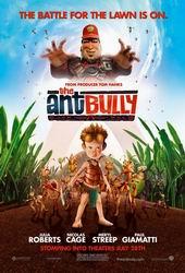 08.06.2007: De vier Spiders bekeken de dvd The Ant Bully. Klik voor groter.