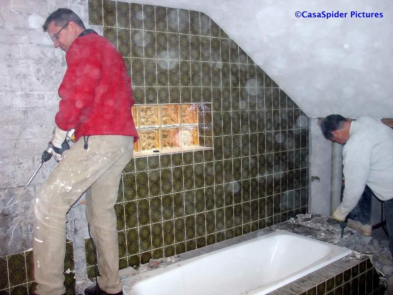 Kosten sloop badkamer: badkamer en toilet slopen akersloot