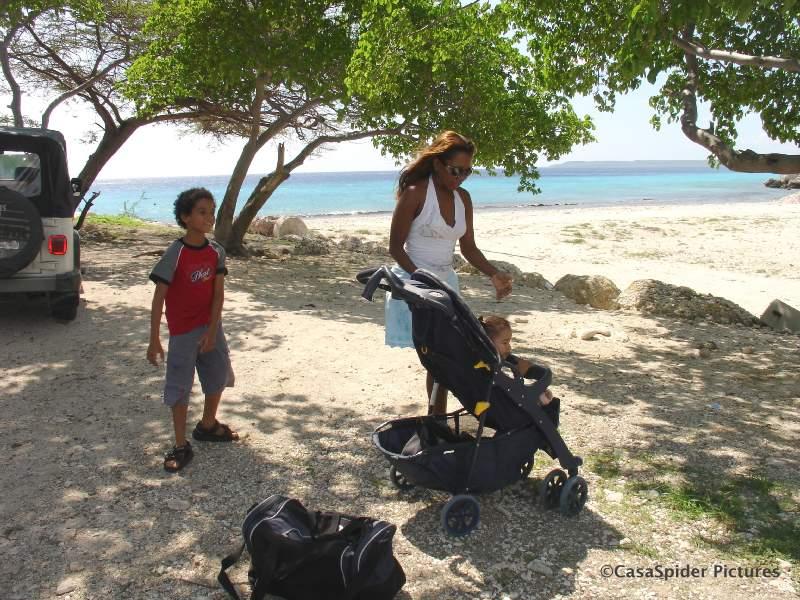 09.09.2007: De Spiders op Boca Sami, het was wel een beetje