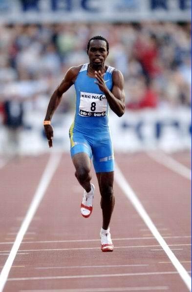 24.07.2007: Churandy Martina wint goud voor de Nederlandse Antillen op de Panamerikaanse kampioenschappen te Rio de Janeiro. Klik voor groter.