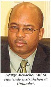 12.03.2007: Bij reeds drie Dominicanen op Bonaire is het Nederlandse paspoort ingenomen door George Mensche.