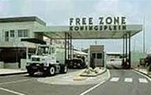 Archieffoto Curacao Free Zone aan het Koningsplein
