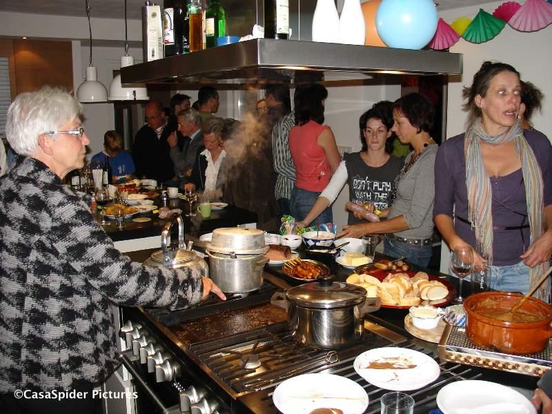 06.10.2007: Housewarming Party bij Luc en Pascale in Borkel. Klik voor groter.