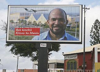 Kenneth Gijsbertha (MAN) voert verkiezingsstrijd op persoonlijke titel en gebruikt daarvoor het behaalde succes met Insel Air