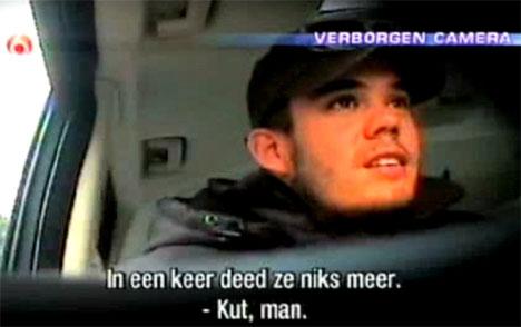03.02.2008: Peter R. de Vries ontmaskert Joran van der Sloot. Klik voor groter.