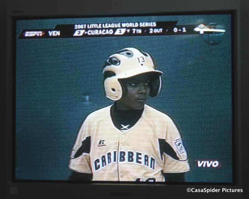 23.08.2007: Little League, Curacao verslaat Maracaibo in zevende inning door homerun van Deion Rosalia. Klik voor groter.