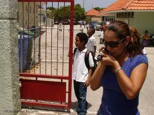 22.06.2007: Laatste schooldag klas 4B van de Marnix-school. Klik voor groter.