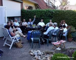 16.04.2007: Bij tante Diny en ome Jo in Deventer na de crematie van ome Gerard. Klik voor groter.