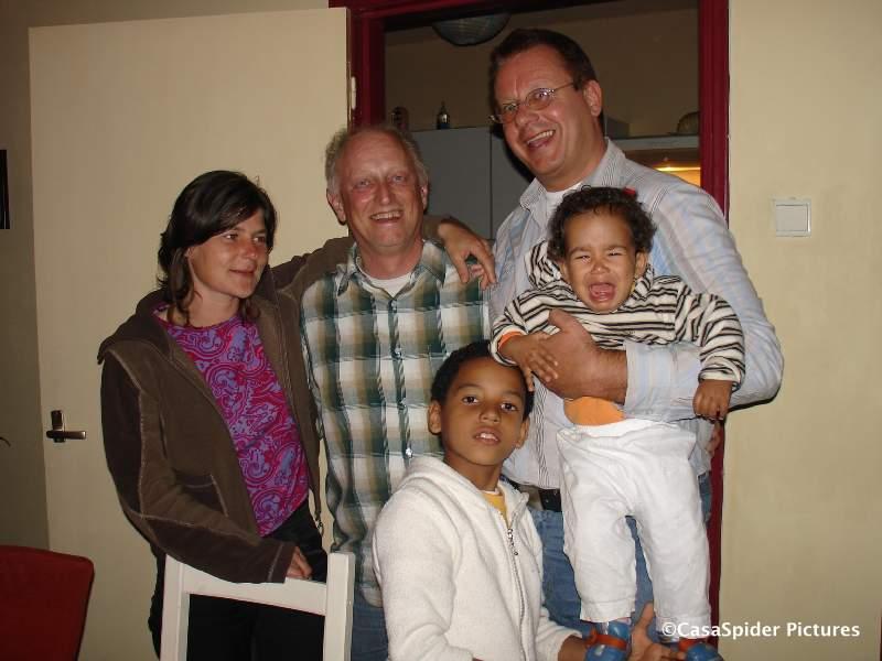19.04.2007: Op bezoek bij Paul en Ans Janssen in Valkenswaard. Klik voor groter.