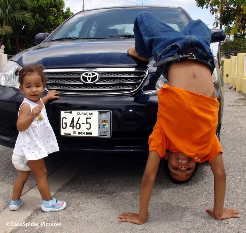 29.06.2007: Toyota van CasaSpider net op tijd voorzien van een grijs nummerplaatbelastingaddendum voor de tweede helft van 2007. Klik voor groter.