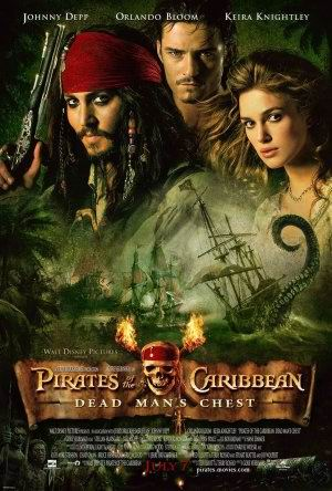 Pirates of the Caribbean, Dead Man's Chest. Klik voor groter.