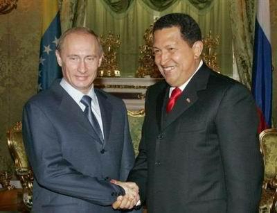 02.12.2007: Vladimir Poeten en Hugo Chavez Frias: Wie is hier nu de dictator?