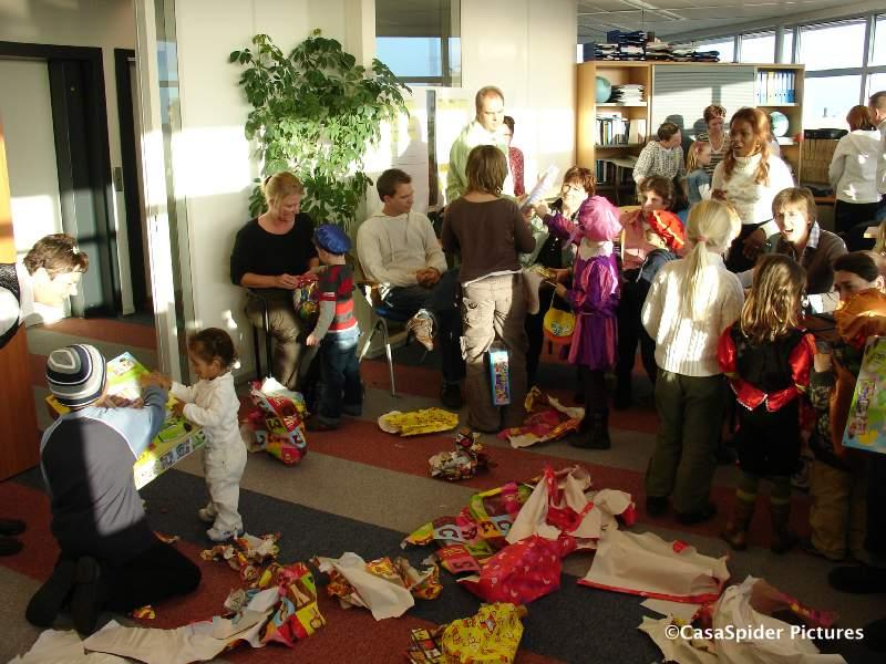 01.12.2007: Sinterklaasfeest bij SQL Integrator te Rijswijk. Klik voor groter.