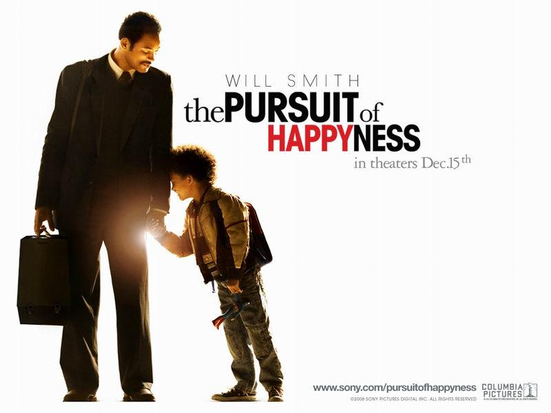 19.11.2007: De Spiders bekijken The Pursuit of Happyness met hun JVC home-cinema. Klik voor groter.