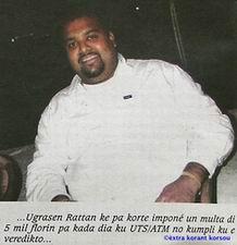 02.05.2007: Ugrasen Rattan uit Trinidad is vastbesloten het huis te Marazul op te eisen. Klik voor groter.