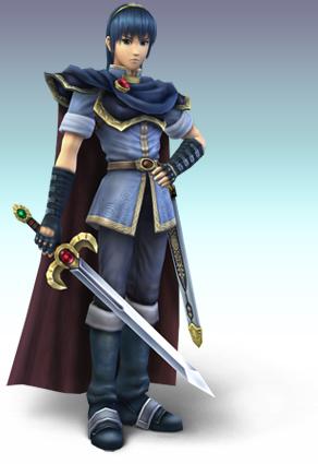 17.08.2009: Diana (3) is de nieuwe Marth, game-character uit Super Smash Bros. Brawl. Klik voor groter.