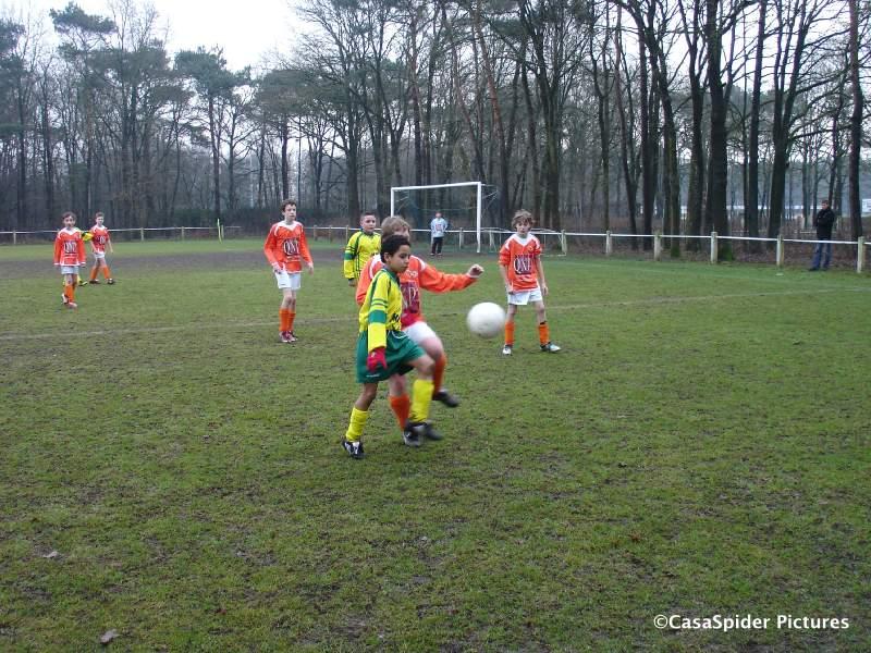 28.02.2009: Rijen D4 levert een historische prestatie, voor het eerst wordt er gewonnen. Rijen D4 - Moerse Boys D3 5-2! Klik voor groter.