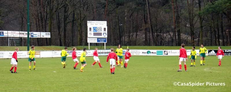 28.03.2009: Rijen D4 - Wernhout D4 3-0 (derde klasse D317). Klik voor groter.