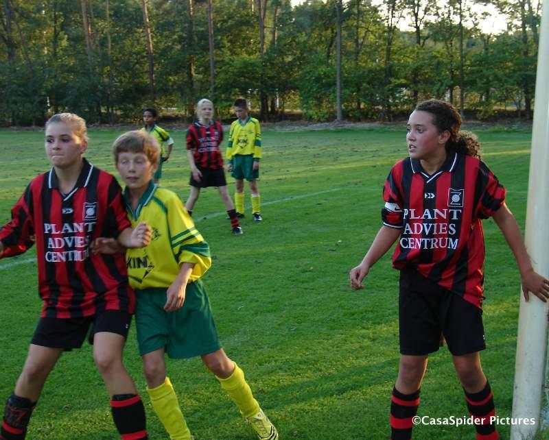 08.09.2009: Dinsdagavond speelt Rijen D4 een bekerduel tegen Zundert D4M, we winnen met 12-0. Klik voor groter.