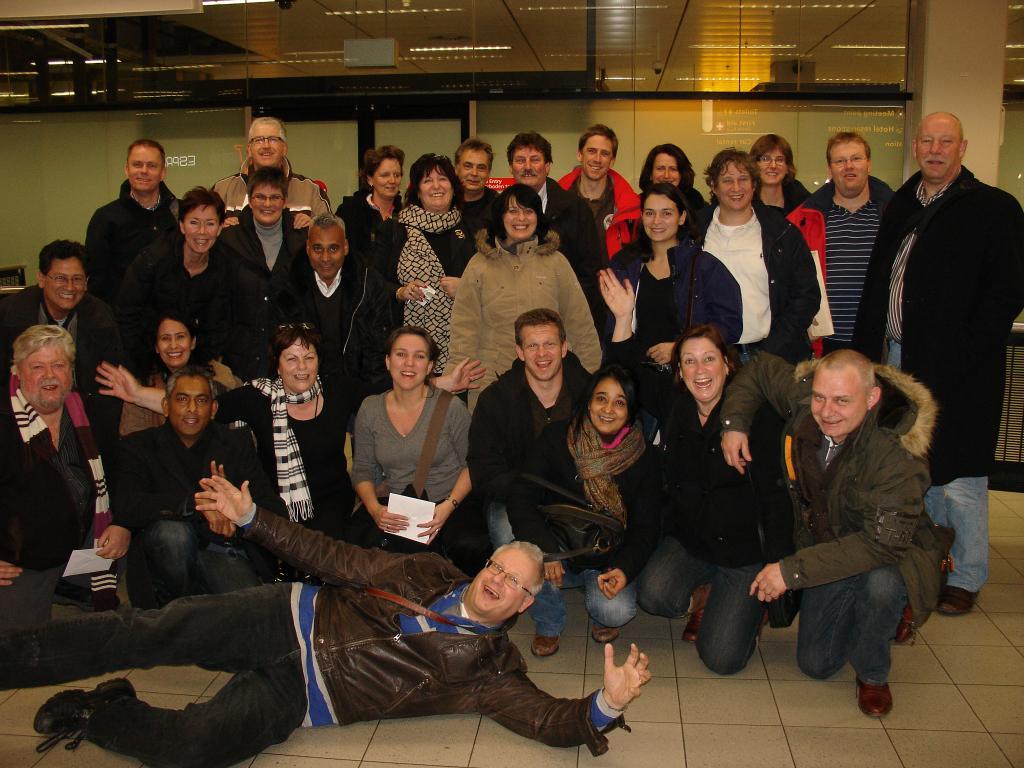 18-20.12.2009: SQL Integrator Nederland gaat met 28 man naar Budapest voor drie dagen. Het is een geweldig weekend geworden. Klik voor groter.