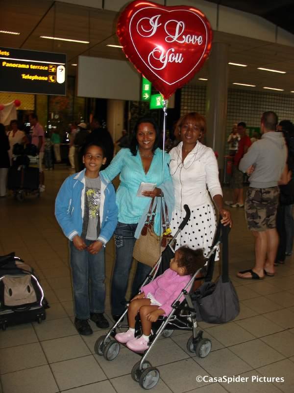 31.05.2009: Sugey is aangekomen op Schiphol en bevindt zich inmiddels in Rijen. Klik voor groter.