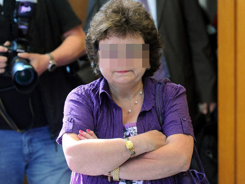 21.07.2010: Marion V. is doodsbenauwd voor hazen, maar hoe zit dat andersom? Klik voor groter.