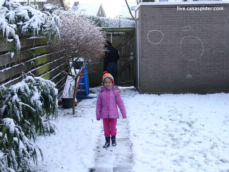 18.12.2010 De winter in Nederland houdt alweer een week of twee huis, toch lijkt Gilze-Rijen enigszins gespaard te blijven en zo hoort het ook. Klik voor groter.