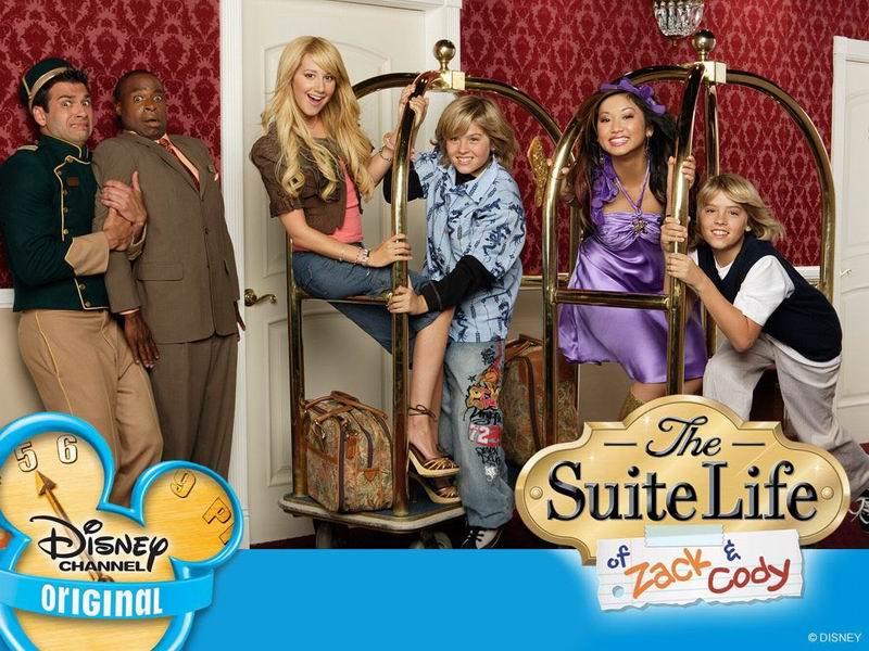 24.07.2010: Wat een feest, de Zack & Cody marathon op televisie. Klik voor groter.