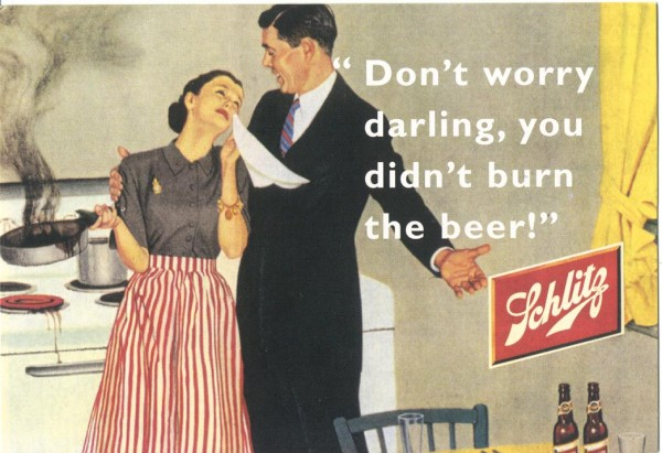 04.07.2010: Vintage Ads; toen was geluk nog heel gewoon. Klik voor groter.