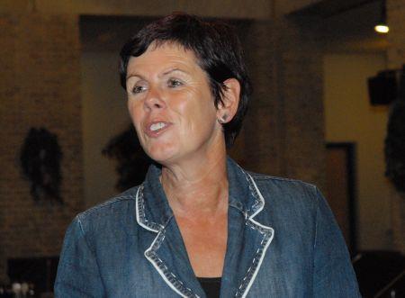 27.09.2011: De 52-jarige Marja Heerkens (PvdA) wordt geïnstalleerd als burgmeester van Gilze-Rijen. Klik voor groter.