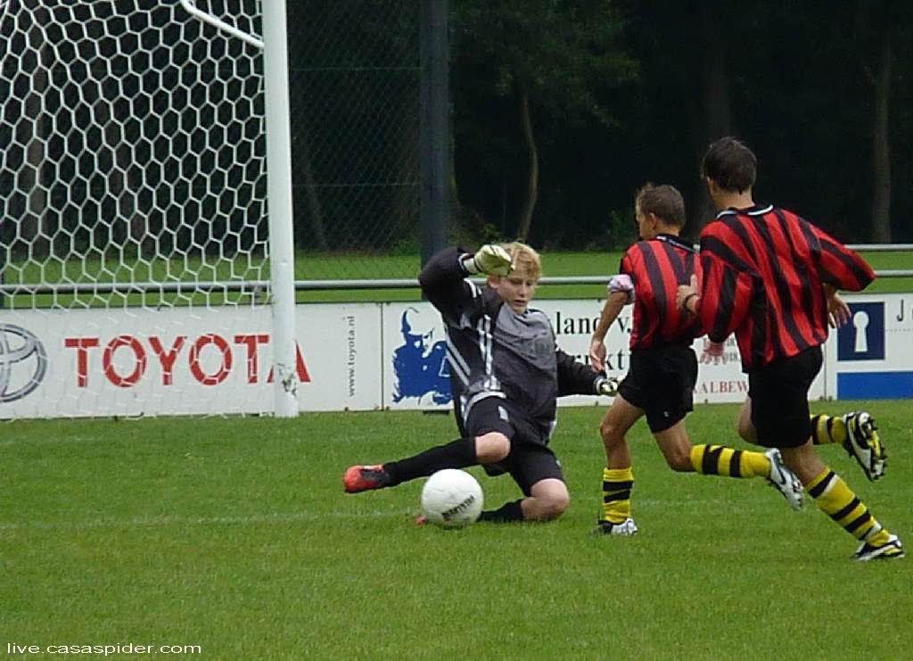 27.08.2011: Rijen C4 wint verrassend maar verdiend het bekerduel uit in Raamsdonksveer tegen Veerse Boys C2, mede dankzij onze nieuwe keeper Jaap van Daal. Klik voor groter.