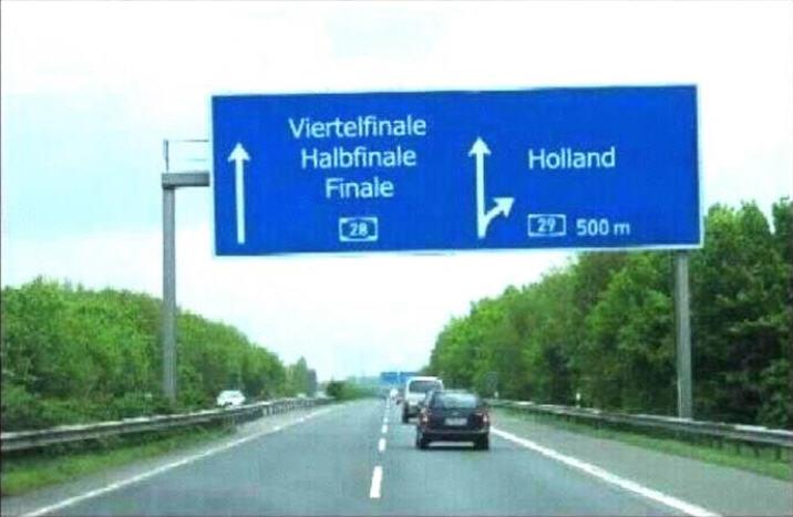 13.06.2012: Vanavond de kraker Duitsland-Nederland, we gaan voor een ANDER scenario! Klik voor groter.