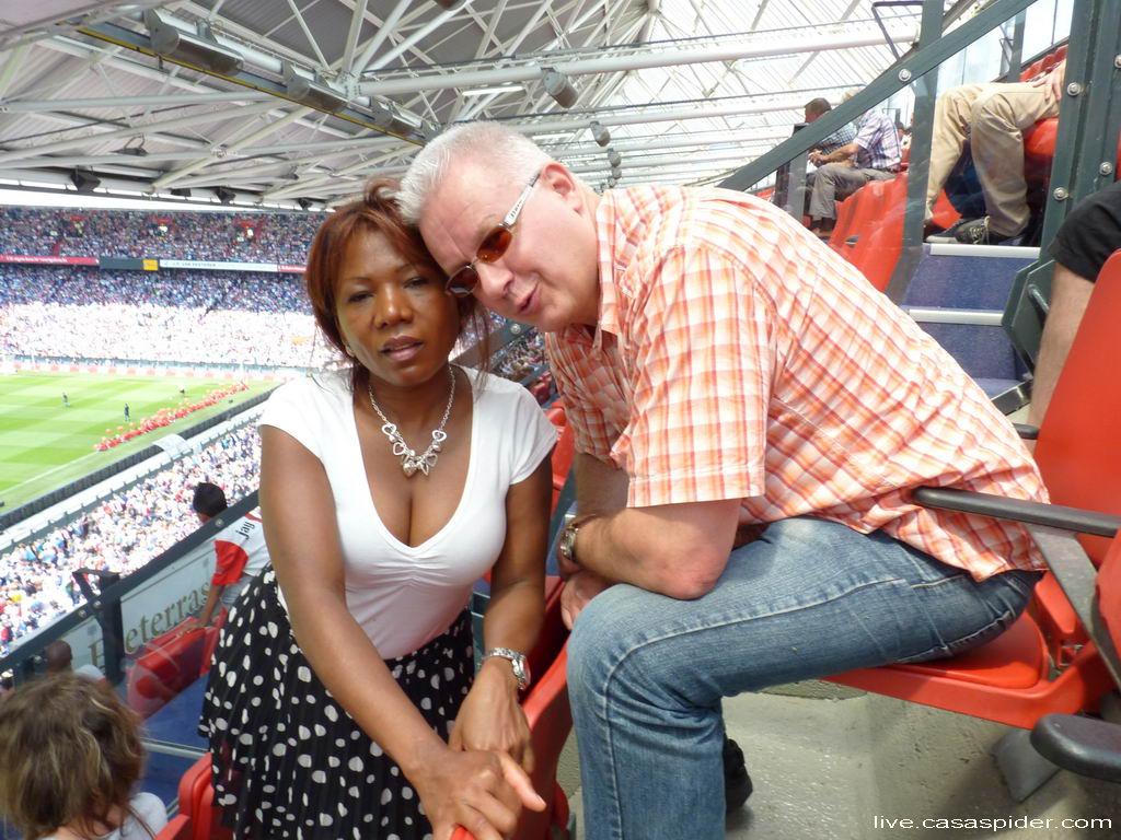 12.07.2012: Feyenoord Rotterdam, Open Dag 2012 en Lucy en CasaSpider zijn erbij! Klik voor groter.