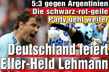 Duitsland dankzij penalties (4-2) verder tegen Argentinie